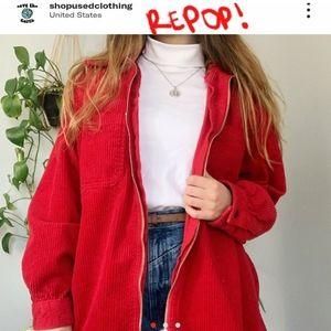 Corduroy vintage jacket